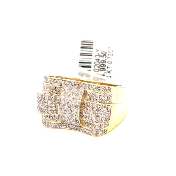 10K Yellow Gold 0.72ct Diamond Men's Ring Kingsmark Jewelers Jacksonville, FL