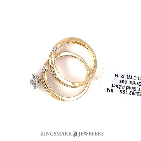 14KY Gold 0.35ct DIA Bridal Set 0.25ct CTR, I2, H Image 3 Kingsmark Jewelers Jacksonville, FL