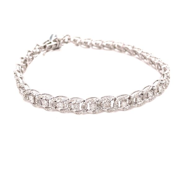 10K White Gold 2.00ct Diamond Bracelet Si 1, G Kingsmark Jewelers Jacksonville, FL