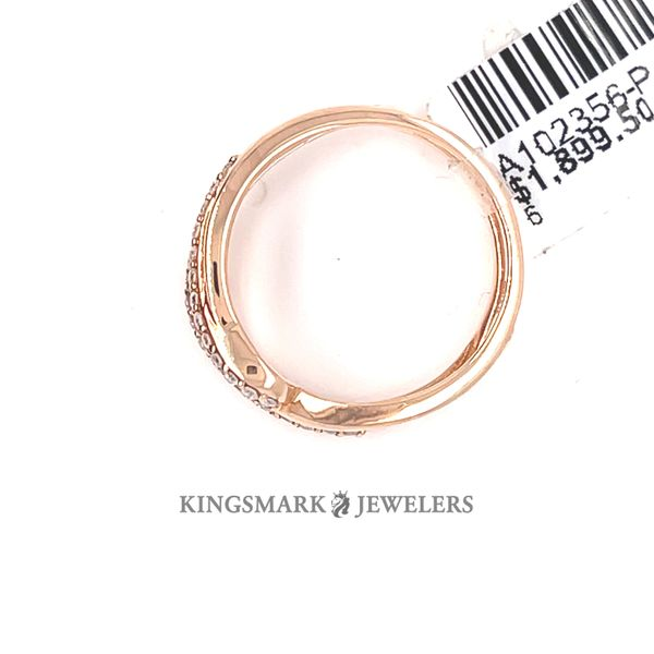 10K R.Gold 0.19ct Diamond Ring Enhancer Image 3 Kingsmark Jewelers Jacksonville, FL