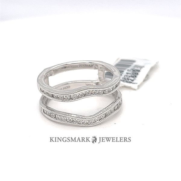 10K W.Gold 0.43ct Diamond Ring Enhancer Kingsmark Jewelers Jacksonville, FL