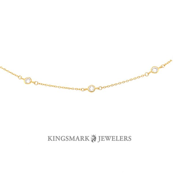 10K Yellow Gold Fancy Anklet Kingsmark Jewelers Jacksonville, FL