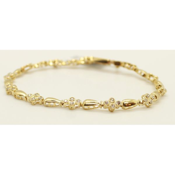 10K Yellow Gold Ladies Bracelet Kingsmark Jewelers Jacksonville, FL