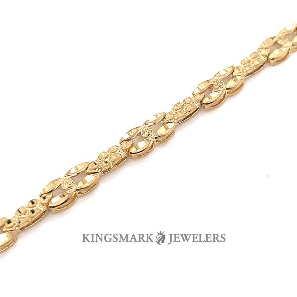10K Yellow Gold Ladies Bracelet Image 2 Kingsmark Jewelers Jacksonville, FL
