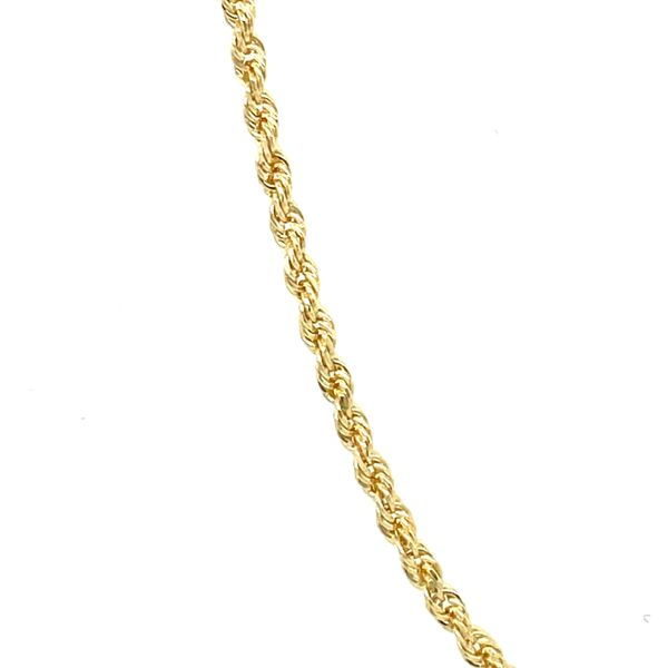 10K Yellow Gold Solid Rope 1.5mm 24