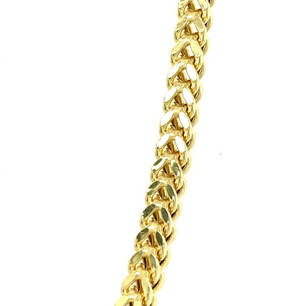 10K Yellow Gold Franco 4mm 24