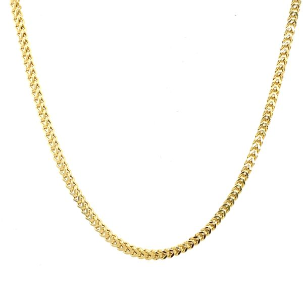 10K Yellow Gold Franco 2mm 26
