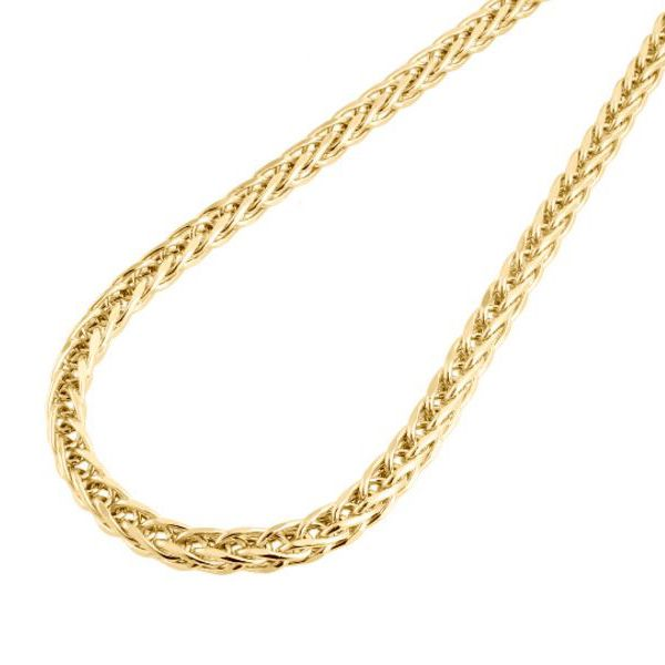 10K Yellow Gold Palm Chain 26