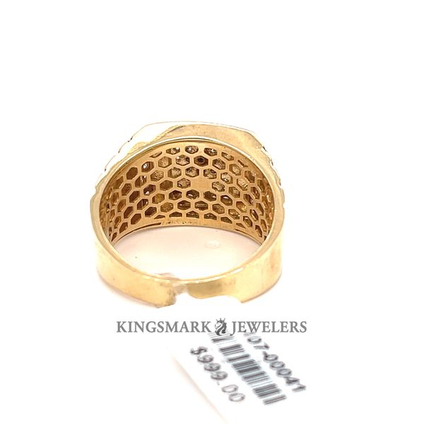 10K Yellow Gold Men's Ring Image 3 Kingsmark Jewelers Jacksonville, FL