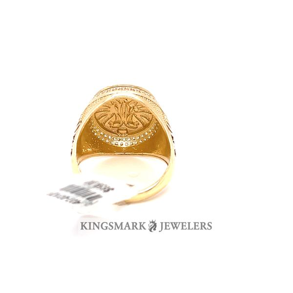 10K Yellow Gold Mens Ring Image 3 Kingsmark Jewelers Jacksonville, FL