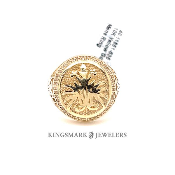 10K Yellow Gold Mens Ring Kingsmark Jewelers Jacksonville, FL