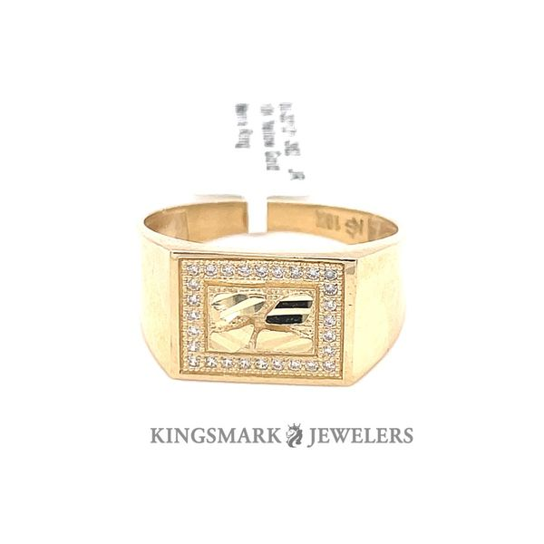 10K Yellow Gold Men's Ring Kingsmark Jewelers Jacksonville, FL