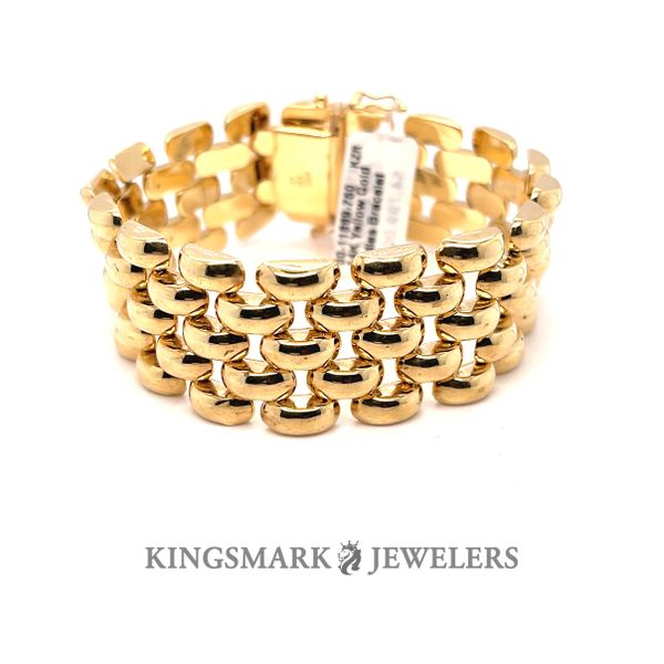 14K Yellow Gold Ladies Bracelet Kingsmark Jewelers Jacksonville, FL