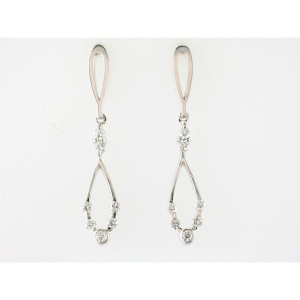 William August Diamond Earrings Knowles Jewelry of Minot Minot, ND