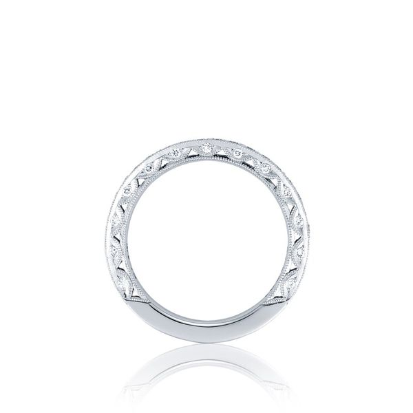 Platinum Tacori RoyalT Diamond Wedding Band Image 3  ,