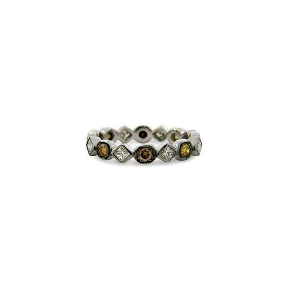 18K Black Rhodium Eternity Stackable or Wedding Band Koerber's Fine Jewelry, Inc. New Albany, IN