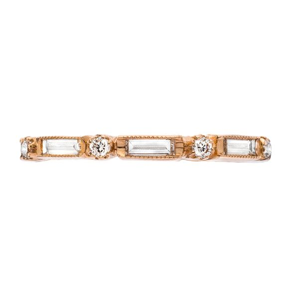18K Rose Gold Diamond Stackable or Wedding Band Koerber's Fine Jewelry, Inc. New Albany, IN