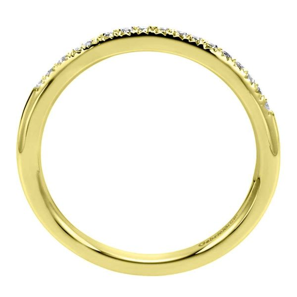 14K Yellow Gold Prong Set Diamond Stackable or Wedding Band Image 3 Koerber's Fine Jewelry, Inc. New Albany, IN