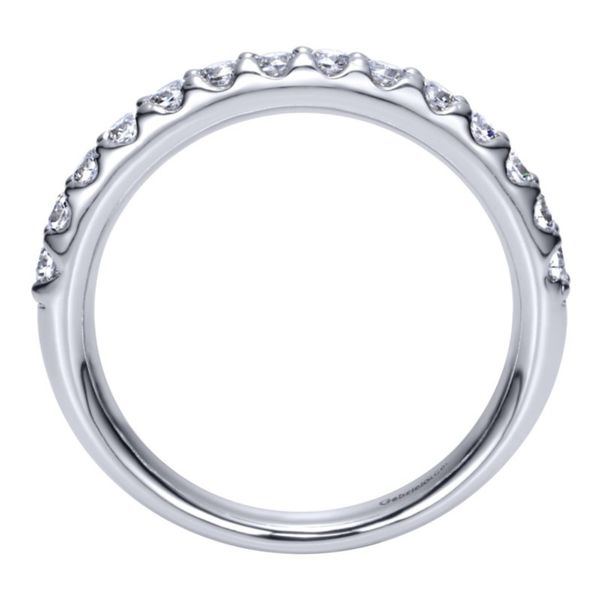 14K White Gold Round 14 Stone Diamond Anniversary Band Image 2 Koerber's Fine Jewelry, Inc. New Albany, IN