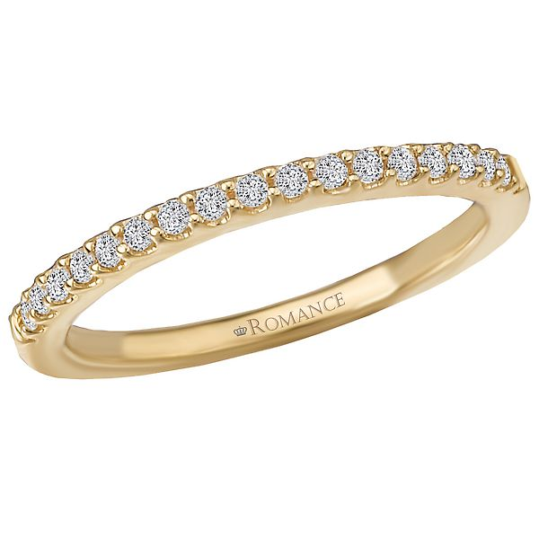 18K Yellow Gold Wedding Band Image 2 Koerber's Fine Jewelry, Inc. New Albany, IN