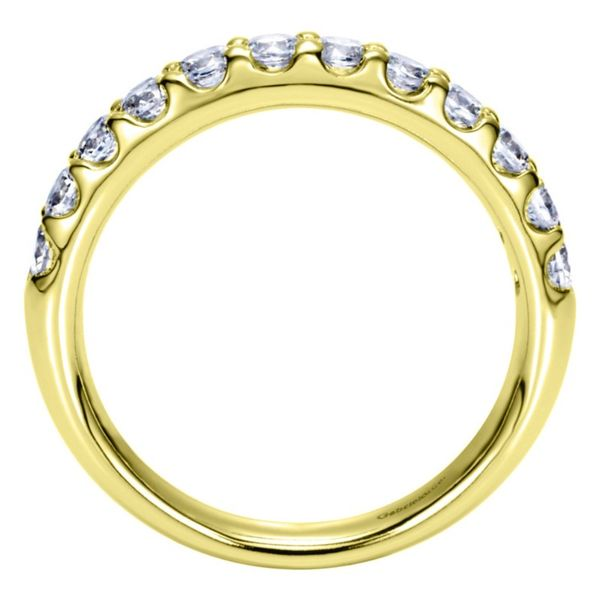 14K Yellow Gold Round 12 Stone Diamond Anniversary Band Image 3 Koerber's Fine Jewelry, Inc. New Albany, IN