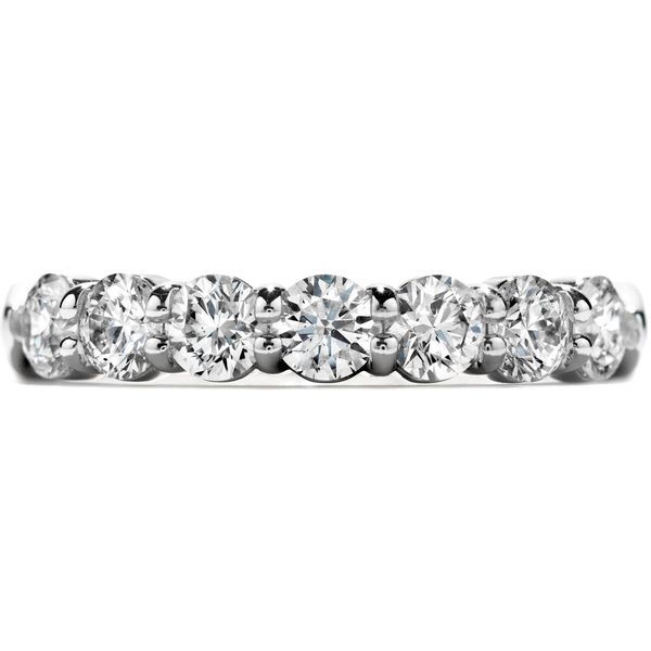 18K White Gold Seven-Stone Wedding Band Koerber's Fine Jewelry, Inc. New Albany, IN