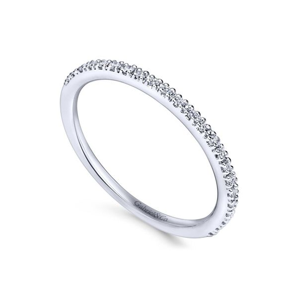 14K White Gold Diamond Anniversary Band Image 2 Koerber's Fine Jewelry, Inc. New Albany, IN