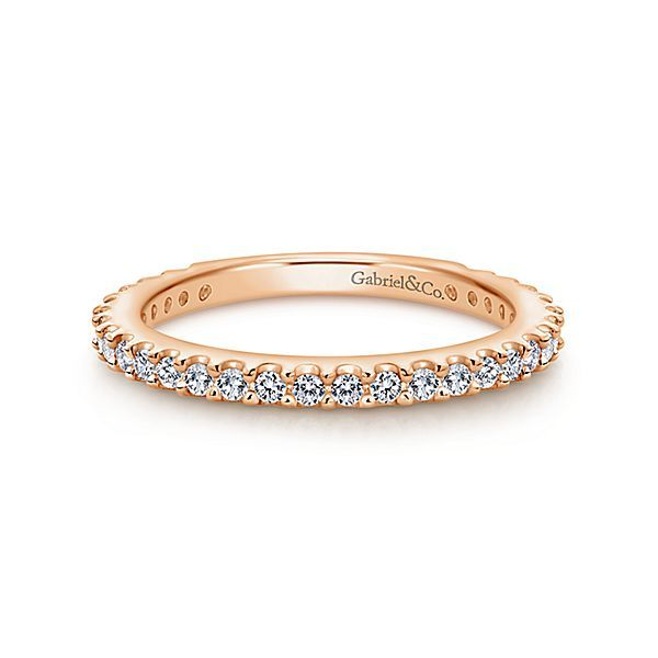 14K Rose Gold Anniversary Band Koerber's Fine Jewelry, Inc. New Albany, IN