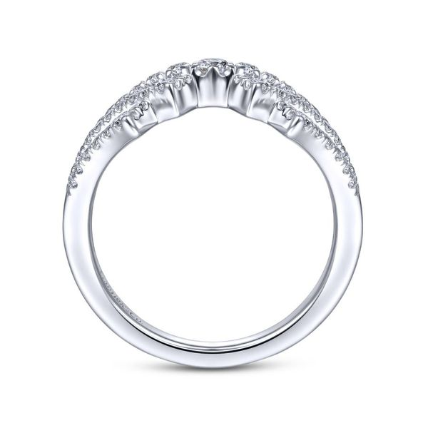 14K White Gold Diamond Fashion Ring Image 2 Koerber's Fine Jewelry, Inc. New Albany, IN