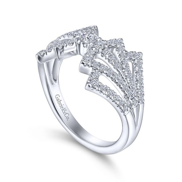 14K White Gold Diamond Fashion Ring Image 3 Koerber's Fine Jewelry, Inc. New Albany, IN