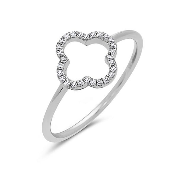 14K White Gold Diamond Fashion Ring Koerber's Fine Jewelry, Inc. New Albany, IN