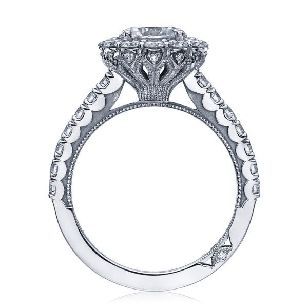 Platinum Full Bloom Tacori Engagement Ring Image 2 Koerber's Fine Jewelry, Inc. New Albany, IN
