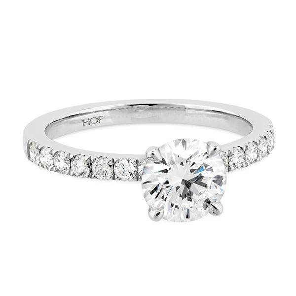 18K White Gold Destiny Engagement Ring Image 2 Koerber's Fine Jewelry, Inc. New Albany, IN