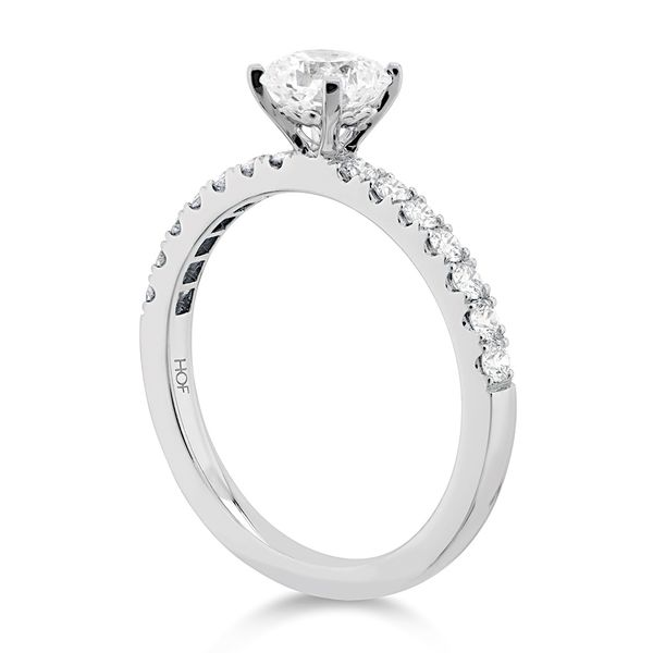 18K White Gold Destiny Engagement Ring Image 3 Koerber's Fine Jewelry, Inc. New Albany, IN