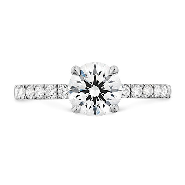 18K White Gold Destiny Engagement Ring Koerber's Fine Jewelry, Inc. New Albany, IN