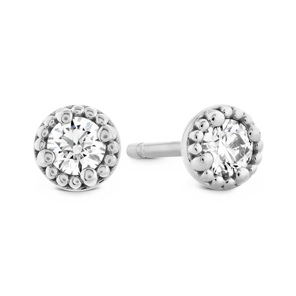 18K White Gold Liliana Stud Diamond Earrings Koerber's Fine Jewelry, Inc. New Albany, IN