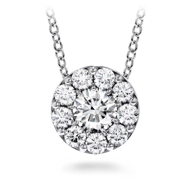 18K White Gold Fulfillment Round Pendant Koerber's Fine Jewelry, Inc. New Albany, IN