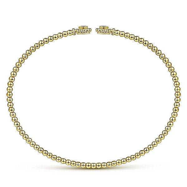 14K Yellow Gold Fashion Bangle Bracelet Image 2 Koerber's Fine Jewelry, Inc. New Albany, IN