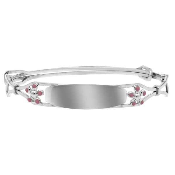 Sterling Silver Forget Me Not Children's Bracelet Koerber's Fine Jewelry, Inc. New Albany, IN