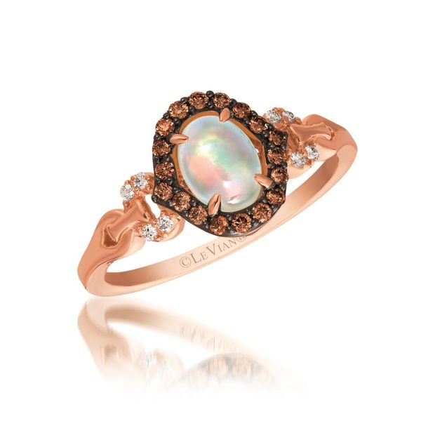 14K Strawberry Gold Neopolitan Opal Fashion Ring Koerber's Fine Jewelry, Inc. New Albany, IN