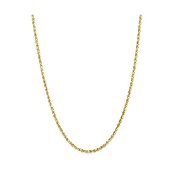 10K Yellow Gold Diamond-Cut Rope Chain Koerber's Fine Jewelry, Inc. New Albany, IN