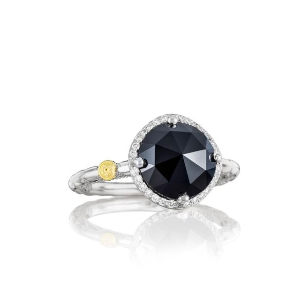 Tacori Round Black Onyx and Diamond Ring Koerber's Fine Jewelry, Inc. New Albany, IN
