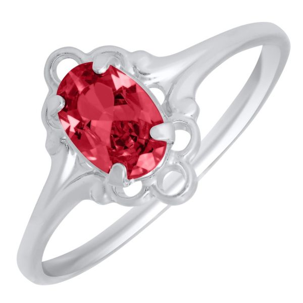 Sterling Silver Children's Birthstone Ring Koerber's Fine Jewelry, Inc. New Albany, IN