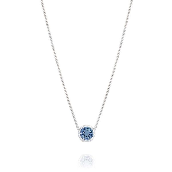 Tacori Round London Blue Necklace Koerber's Fine Jewelry, Inc. New Albany, IN