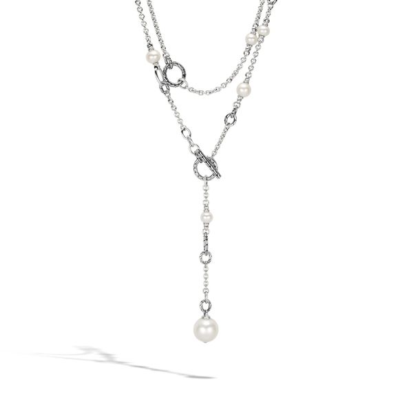 Sterling Silver Classic Chain Sautoir Necklace Image 2 Koerber's Fine Jewelry, Inc. New Albany, IN