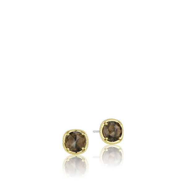 Tacori Smoky Quartz 7MM Stud Earrings Koerber's Fine Jewelry, Inc. New Albany, IN