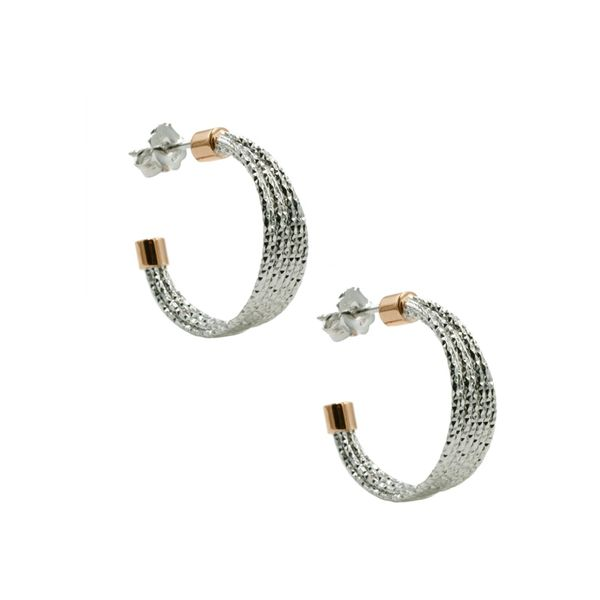 Sterling Silver Hoop Earrings Koerber's Fine Jewelry, Inc. New Albany, IN