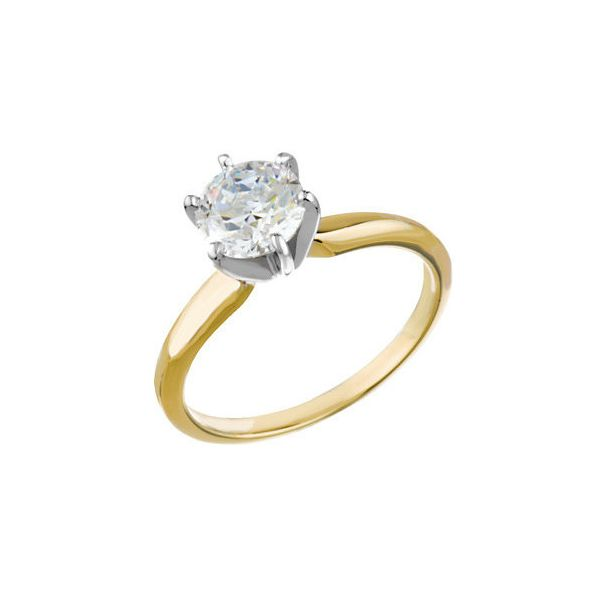 2.72 Carat Round Diamond Solitaire Engagement Ring Koser Jewelers Mount Joy, PA