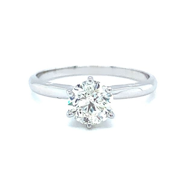 0.94 Carat Round Diamond Solitaire Engagement Ring Koser Jewelers Mount Joy, PA