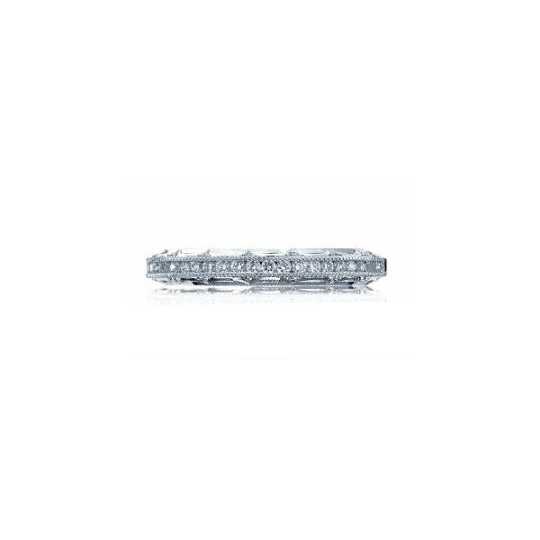 Tacori Reverse Crescent Diamond Wedding Ring Koser Jewelers Mount Joy, PA